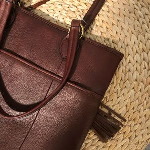 Hand made bag leather - 18x14in excellent soft